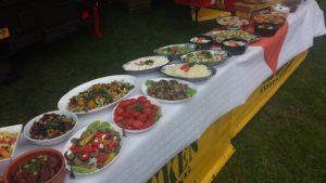Luxe BBQ buffet