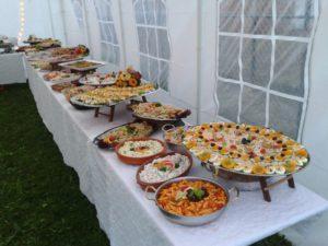 Diner buffet