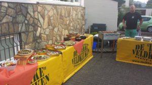 BBQ buffet Allround Catering De Dikke Veldkeuken